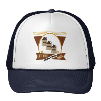 Good Times Roll Beer T-shirts and Gifts Cap