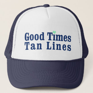 Good Times Tan Lines Summer Hat