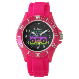 Good Vibes 80's Style Wrist Watches