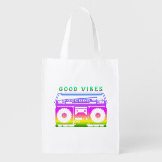 Good Vibes Colorful Stereo Stencil