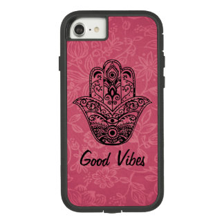 Good Vibes | Hamsa Hand | Yoga Case-Mate Tough Extreme iPhone 8/7 Case