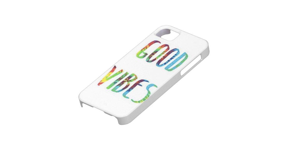 Good Vibes iPhone 5/5s Case : Zazzle