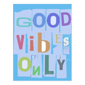 good vibes only 2_3.jpg postcard