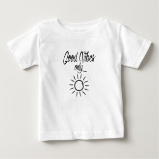 Good Vibes Only Baby T-Shirt