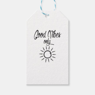 Good Vibes Only Gift Tags