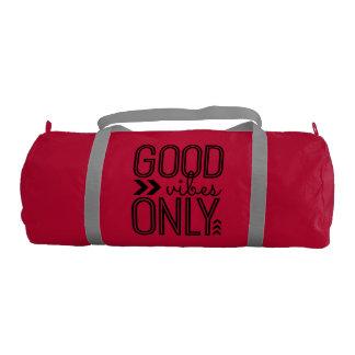 Good Vibes Only - Gym Duffle Bag Gym Duffel Bag