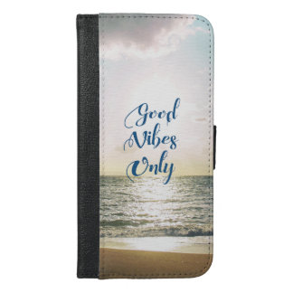 """""""Good Vibes Only"""" Quote Be Positive, Sea Beach Sun"""