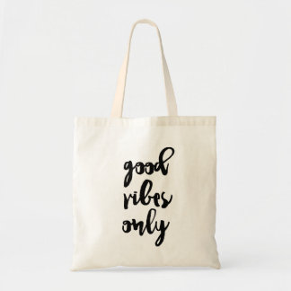 'Good Vibes Only' - Tote