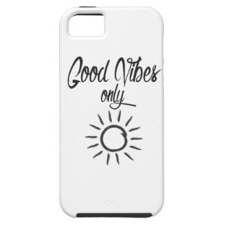 Good Vibes Only Tough iPhone 5 Case