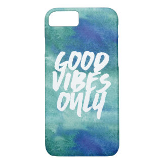 Good Vibes only Typography iPhone 8/7 Case