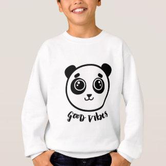 Good Vibes Panda Sweatshirt
