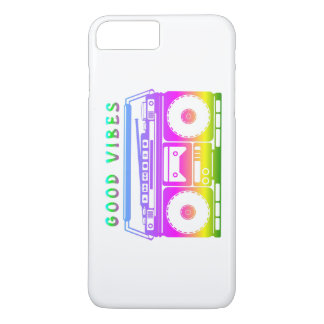 Good Vibes Retro Stereo iPhone 7 Plus Case