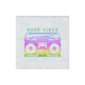 Good Vibes Stone Magnet