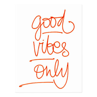 Good Vibrations - Good Vibes Postcard