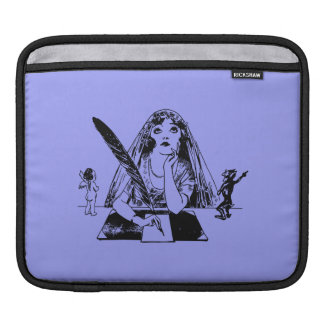 Good vs. Evil Writer Personalized Sleeves For iPads