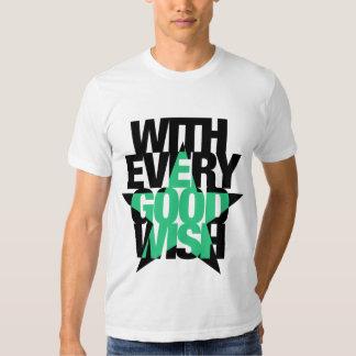 Good Wish Letter T-shirt B