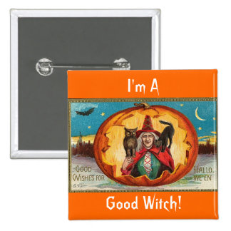 Good Wishes For Halloween Pins
