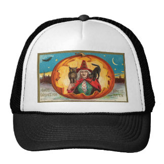 Good Wishes For Halloween Cap