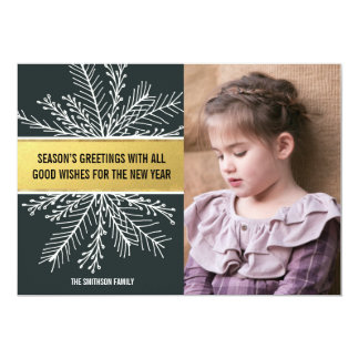 Good Wishes Paper Holiday Photo Card 13 Cm X 18 Cm Invitation Card