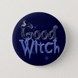 Good Witch 08 Button