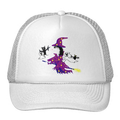 Good witch and her friends trucker hats