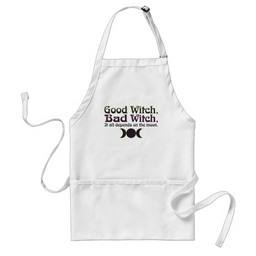 """""""Good Witch, Bad Witch..."""" Aprons"""
