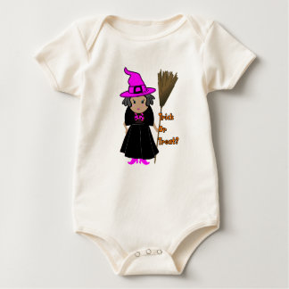 Good Witch in Pink Hat - Baby Halloween Clothes Rompers