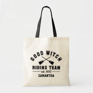 Good Witch Riding Team | Halloween Trick or Treat Tote Bag