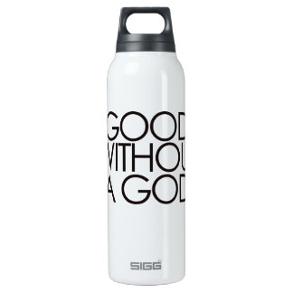 Good without god 0.5L insulated SIGG thermos water bottle