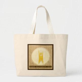 Good Without God Jumbo Tote Bag