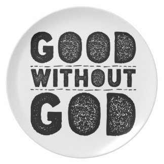 Good Without God Plate