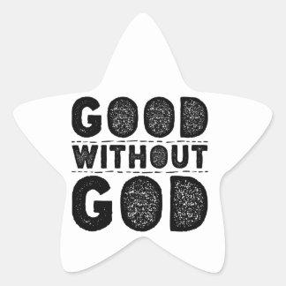 Good Without God Star Sticker