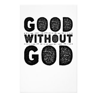 Good Without God Stationery