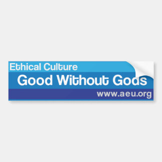 Good Without Gods Bumper Sticker