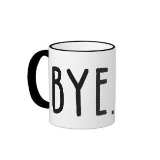 Goodbye Forever Work Mug