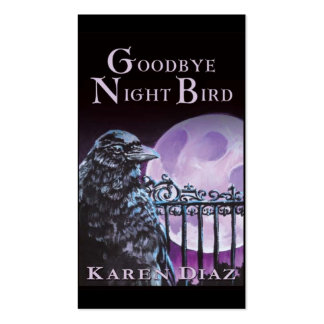 Goodbye Night Bird Double-Sided Standard Business Cards (Pack Of 100)