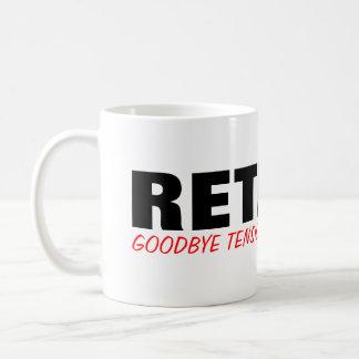 Goodbye tension Hello pension! Cute retirement mug