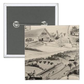 Goodell Co's Works, Antrim, NH 15 Cm Square Badge