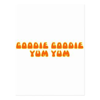 Goodie Goodie Yum Yum Postcard