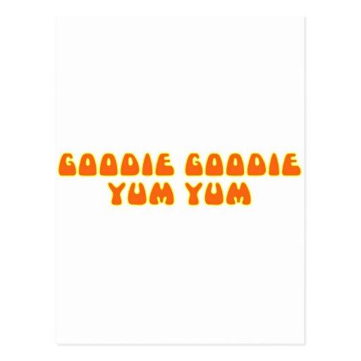 Goodie Goodie Yum Yum Postcards