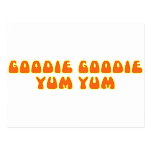 Goodie Goodie Yum Yum Post Cards
