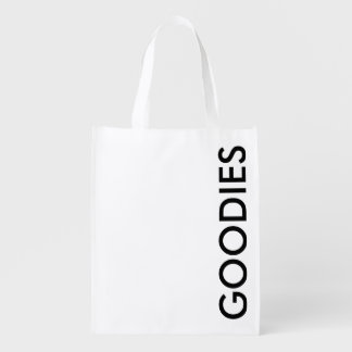 GOODIES REUSABLE GROCERY SHOPPING BAG