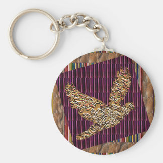 GoodLUCK Angel Bird Pet Kids Birthday Giveaway FUN Basic Round Button Key Ring