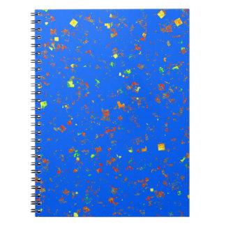 Goodluck Dream Blue Template add Text Image DIY Spiral Note Book