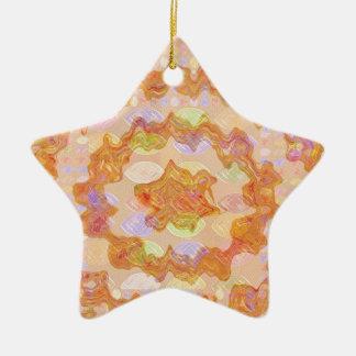 Goodluck Golden Embrace 2 Ceramic Star Decoration