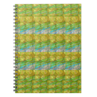 GOODLUCK Golden Green Crystal Beads crystal gifts Note Books