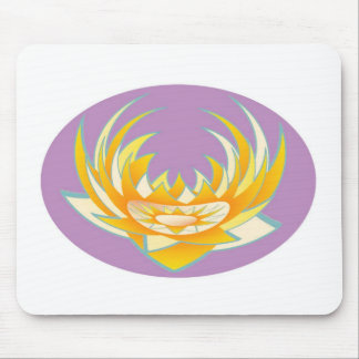 Goodluck HolyPurple Lotus Energy Mouse Pad