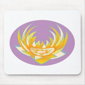 Goodluck HolyPurple Lotus Energy Mouse Pad