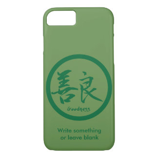 Goodness Green Kanji  Kamon | iPhone 7 cases
