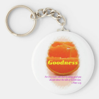 Goodness Key Ring